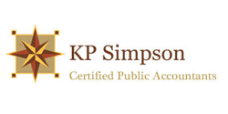 KP Simpson Certified Public Accountants Logo