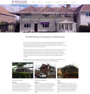privilege scaffolding homepage